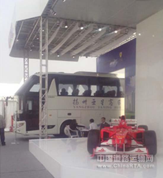 亚星客车亮相2013f1中国大奖赛 图文高清图片