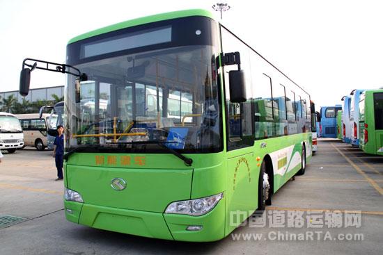 助力京津冀绿色交通 三河市批量金龙新能源公交上线