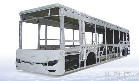 焊接工艺部件与部件之间没有连接件,相对螺栓结构车体重量也会更轻,更